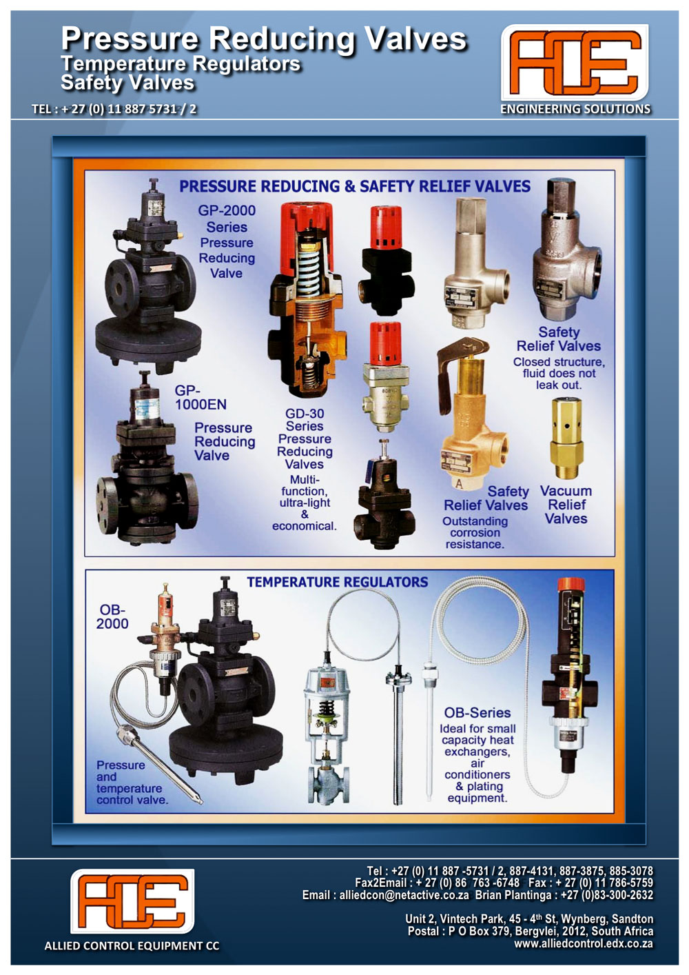 pressure reducing valves allied control equipment. Black Bedroom Furniture Sets. Home Design Ideas